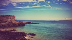 De kust van Cornwall Royalty-vrije Stock Foto