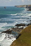 De kust van Cornwall Royalty-vrije Stock Foto's