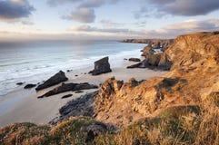 De kust van Cornwall Royalty-vrije Stock Fotografie