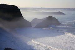 De kust van Cornwall Stock Afbeelding