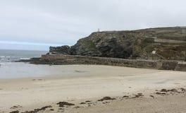 De Kust van Cornwall in de de zomertijd Royalty-vrije Stock Afbeelding