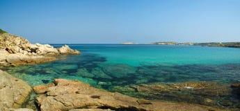 De kust van Corsica (Frankrijk) Stock Afbeelding