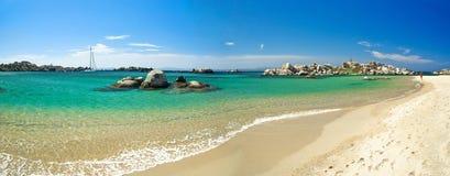 De kust van Corsica (Frankrijk) Royalty-vrije Stock Foto's