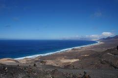 De Kust van de Atlantische Oceaan Stock Afbeeldingen