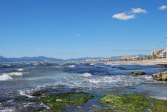 De Kust van de Baai van Palma stock afbeelding
