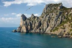 De kust van de Krim royalty-vrije stock afbeeldingen