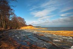 De kust van de lente Royalty-vrije Stock Afbeeldingen