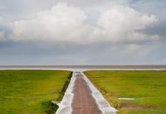 De kust van de Noordzee Royalty-vrije Stock Afbeeldingen
