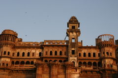 De Kust van de Rivier van Varanasi royalty-vrije stock foto