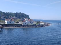 De kust van de Staat van Washington Royalty-vrije Stock Foto's