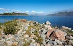 De kust van de steen Royalty-vrije Stock Afbeeldingen