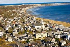 De kust van de strandmening Stock Fotografie