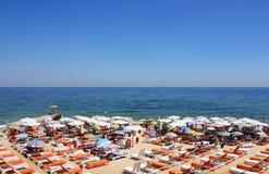 De kust van de Zwarte Zee Stock Fotografie