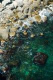 De kust van de Zwarte Zee royalty-vrije stock afbeelding