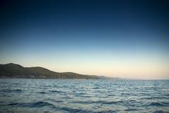 De kust van de Zwarte Zee Stock Afbeeldingen