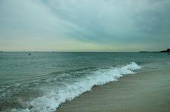 De kust van de Zwarte Zee Royalty-vrije Stock Foto