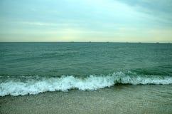 De kust van de Zwarte Zee Royalty-vrije Stock Fotografie