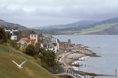 De Kust van Devon van Engeland Royalty-vrije Stock Foto's