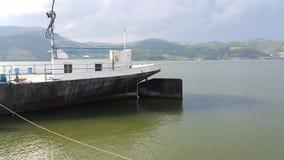 De Kust van Donau in Gornji Milanovac Royalty-vrije Stock Foto's