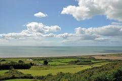 De kust van Dorset in de zomer Royalty-vrije Stock Afbeelding