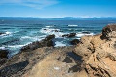 De kust van fortbragg, Californië Royalty-vrije Stock Afbeeldingen