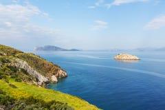 De kust van Griekenland Royalty-vrije Stock Foto
