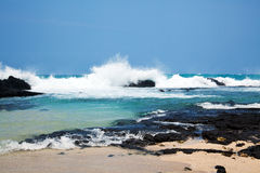 De kust van Hawaï Stock Afbeeldingen