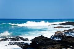 De kust van Hawaï Royalty-vrije Stock Foto's