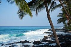 De kust van Hawaï Royalty-vrije Stock Afbeeldingen