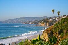 De Kust van het Laguna Beach Stock Fotografie