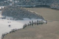 De kust van het meer Royalty-vrije Stock Afbeeldingen