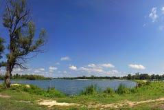 De kust van het meer Royalty-vrije Stock Foto