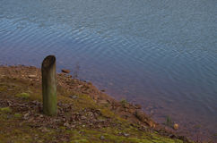 De kust van het meer Royalty-vrije Stock Afbeelding