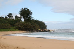 De kust van het noorden van Kauai Stock Afbeelding