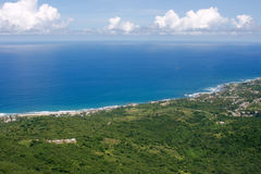 De kust van het oosten van Barbados Stock Fotografie