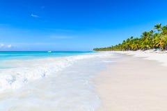 De kust van het Saonaeiland, populaire toeristische toevlucht Royalty-vrije Stock Fotografie