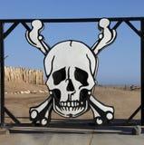 De Kust van het skelet Stock Foto's