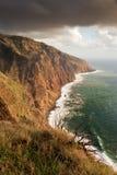 De kust van het westen van Madera, Portugal Royalty-vrije Stock Afbeelding