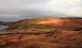 De kust van het westen van Schotland Stock Afbeelding