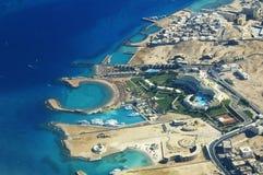 De Kust van Hurghada Royalty-vrije Stock Fotografie
