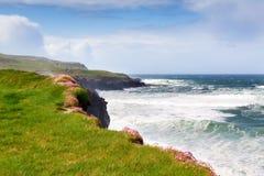 De kust van Ierland royalty-vrije stock afbeelding