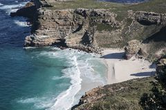 De kust van Kaapstad royalty-vrije stock foto's