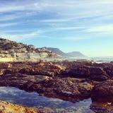 De kust van Kaapstad stock fotografie