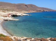 De kust van Kreta Royalty-vrije Stock Afbeeldingen