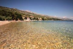 De kust van Kroatië Royalty-vrije Stock Foto's