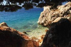 De kust van Kroatië Royalty-vrije Stock Afbeeldingen
