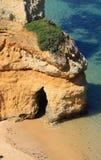 De kust van Lagos, Algarve in Portugal Stock Foto