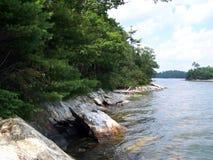 De kust van Maine Stock Afbeelding
