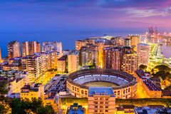 De Kust van Malaga Spanje Stock Foto's