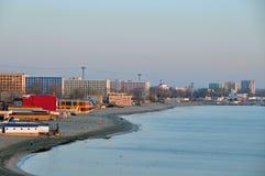 De kust van Mamaia Royalty-vrije Stock Foto